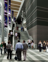 Events Center rendering
