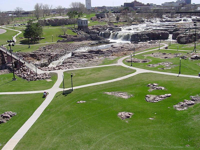 falls park city of sioux falls