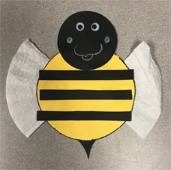 Bumblebee Craft
