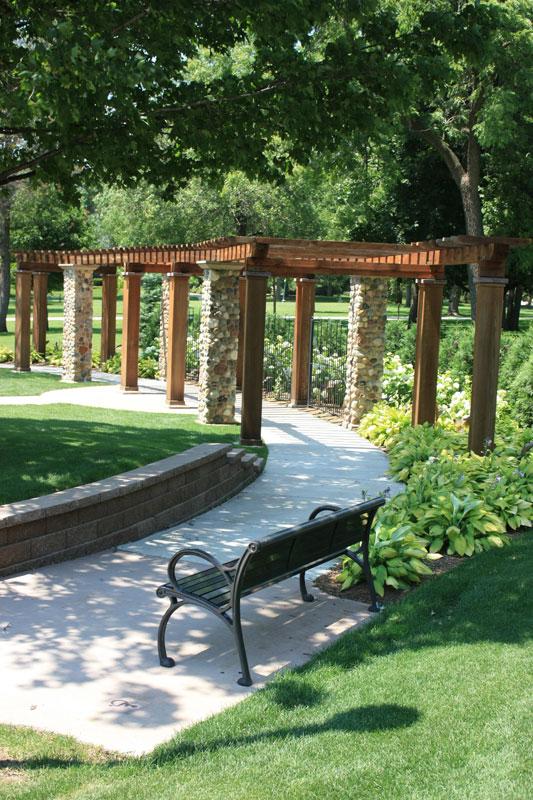 McKennan Sunken Garden and Arbor City of Sioux Falls