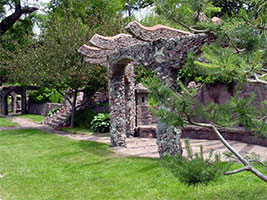Terrace park band shell and japanese garden city of - Terrace park swimming pool sioux falls ...
