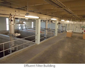 Effluent Filter Building