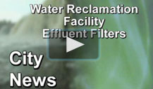Water Reclamation Facility Effluent Filters