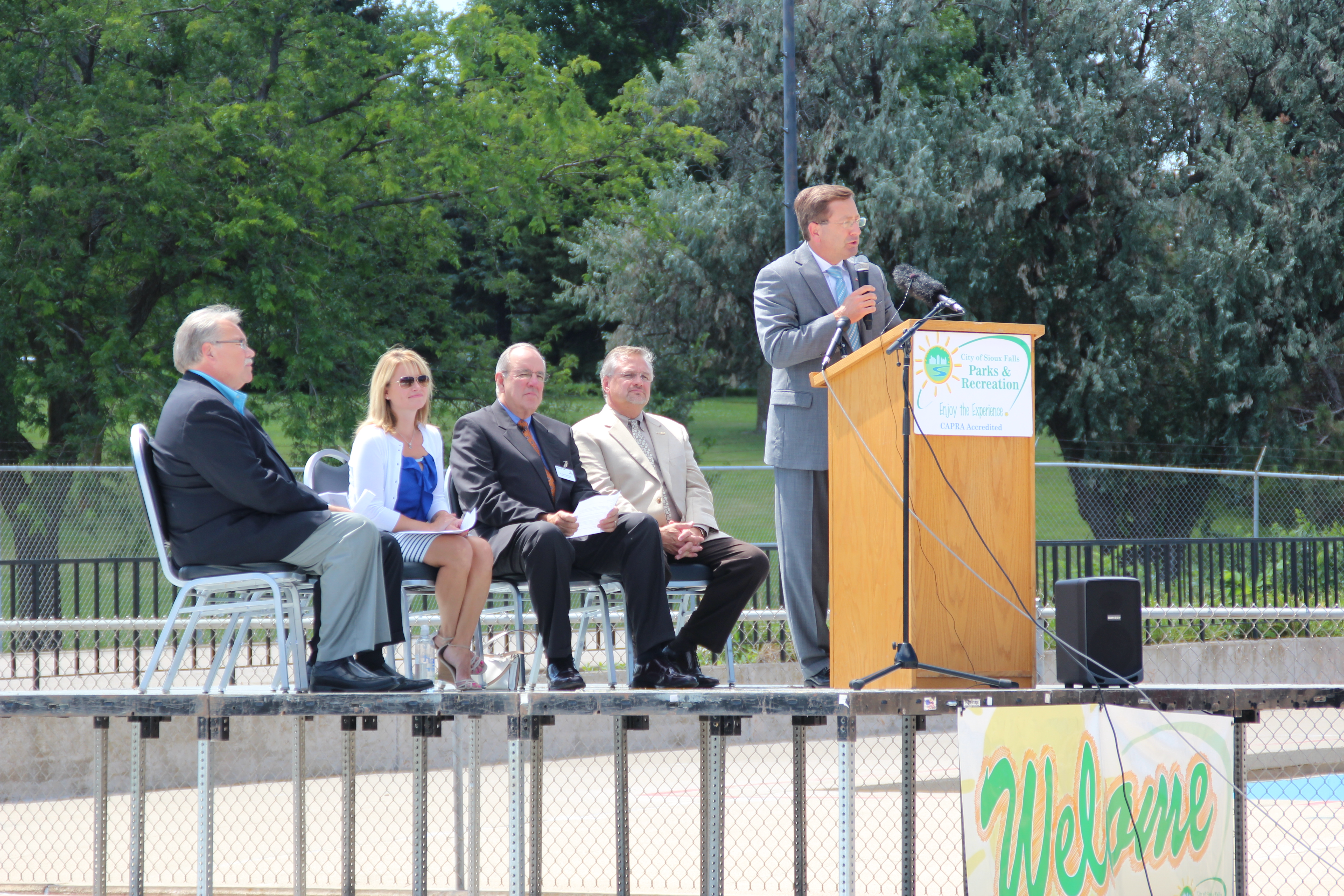 City Of Sioux Falls Groundbreaking Photos