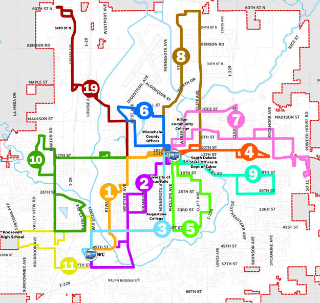City Of Sioux Falls  Fixed Route Service